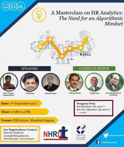 NHRD-IIM Indore HR Analytics Masterclass